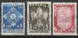 Rumänien 516/18 O - 1918-1948 Ferdinand, Carol II. & Mihai I.