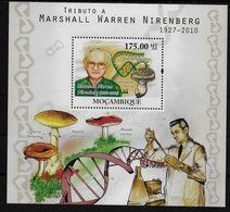 MOZAMBIQUE  BF  (2010 ) * *  Champignons  Marshall Warren Nobel Medecine Physiologie - Mushrooms