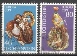 Liechtenstein 642/43 O - Liechtenstein