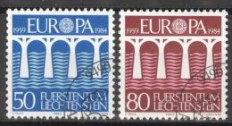 Liechtenstein 837/38 O - Liechtenstein