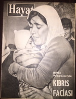 Cyprus - Turkish Propaganda Magazine - Kibris Faciasi 1963 - Books, Magazines, Comics