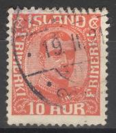Island 89 O - 1918-1944 Unabhängige Verwaltung