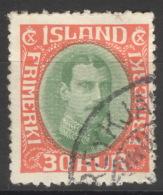 Island 163 O - 1918-1944 Unabhängige Verwaltung