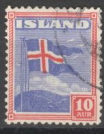 Island 212 O - 1918-1944 Unabhängige Verwaltung