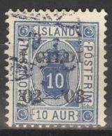 Island Dienst 13B O - Dienstpost