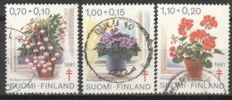 Finnland 885/87 O - Finnland