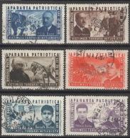 Rumänien 847/52 O - 1918-1948 Ferdinand, Carol II. & Mihai I.