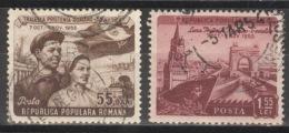 Rumänien 1454/55 O - 1948-.... Republiken