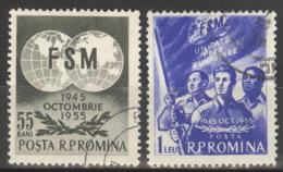 Rumänien 1537/38 O - 1948-.... Republiken
