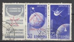 Rumänien 1718+1780 Dreierstreifen O - 1948-.... Republiken