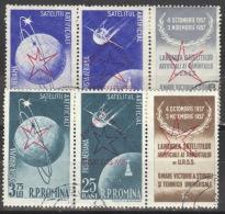 Rumänien 1717/20 2 Dreierstreifen O - 1948-.... Republiken