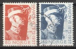 Norwegen 643/44 O - Norwegen