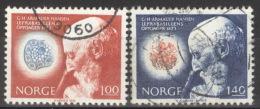 Norwegen 658/59 O - Norwegen
