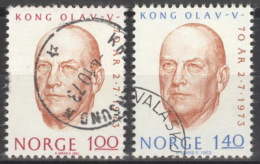 Norwegen 664/65 O - Norwegen