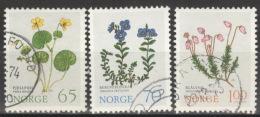 Norwegen 671/73 O - Norwegen