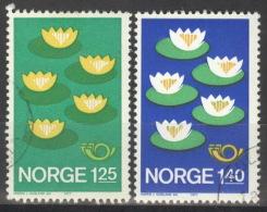 Norwegen 737/38 O - Norwegen