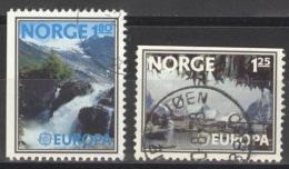 Norwegen 742/43 O - Norwegen