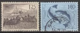 Norwegen 751/52 O - Norwegen
