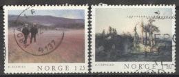 Norwegen 753/54 O - Norwegen
