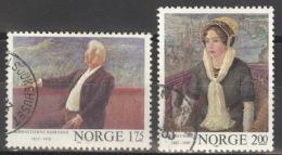 Norwegen 870/71 O - Norwegen