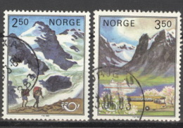 Norwegen 881/82 O - Norwegen