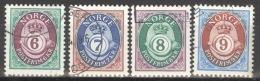 Norwegen 1078/81 O - Norwegen