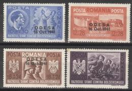 Rumänien 712/15 ** Postfrisch - Ungebraucht