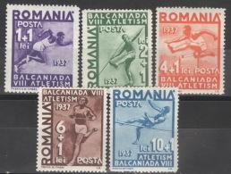Rumänien 538/42 ** Postfrisch - Ungebraucht