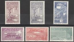 Rumänien 609/14 ** Postfrisch - Ungebraucht