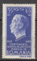 Rumänien 791 ** Postfrisch - Ungebraucht