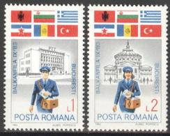 Rumänien 3999/4000 ** Postfrisch - Ungebraucht
