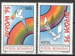 Rumänien 5084/85 ** Postfrisch - 1948-.... Republiken