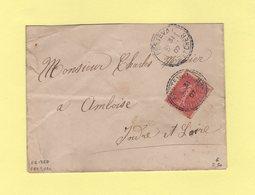 Fretval - Loir Et Cher - 31 Mars 1907 - Facteur Boitier 1369 - Marcophilie (Lettres)
