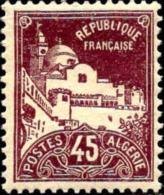 Algérie Poste N** Yv: 46 Mi:47 Alger Grande Mosquée De La Pêcherie - Nuevos