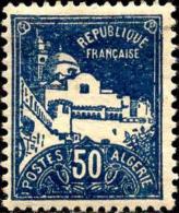Algérie Poste N** Yv: 47 Mi:48 Alger Grande Mosquée De La Pêcherie - Nuevos