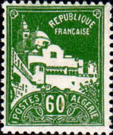Algérie Poste N** Yv: 48 Mi:49 Alger Grande Mosquée De La Pêcherie - Nuevos