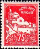 Algérie Poste N** Yv: 49 Mi:50 Alger Grande Mosquée De La Pêcherie (Dent 1 Peu Courte) Voir Scan - Nuevos