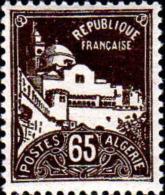 Algérie Poste N** Yv: 80 Mi:80 Alger Grande Mosquée De La Pêcherie - Nuevos