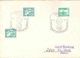 DDR Beleg Mit Sonderstempel Leipzig Mathematiker-Kongress 1981 - [6] Democratic Republic