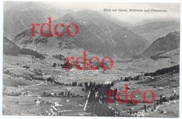 CH Schweiz Bern, Blick Auf Gstaad, Wildhorn Und Oldenhorn; Switzerland - BE Berne