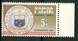 Samoa Islands 1962 5sh Seal Issue #232 - Samoa