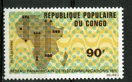 Republique Du Congo 1971 90f Air Mail Issue #C118 - Democratic Republic Of Congo (1964-71)
