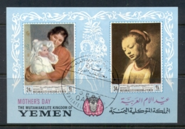 Yemen Kingdom 1968 Mi#MS72b Mothers Day, Women's Portraits MS CTOO - Yemen