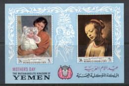 Yemen Kingdom 1968 Mi#MS72B Mother's Day, Women's Portraits MS MUH - Yemen