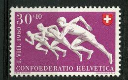 Switzerland 1950 30 + 10f Runners Issue #B194 - Zwitserland