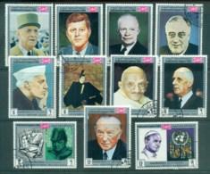 Yemen Kingdom 1969 Famous World Leaders CTO - Yemen
