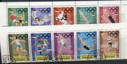 Yemen Kingdom 1969 Mi#752-761 Summer Olympics Munich CTO - Yemen