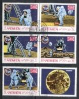 Yemen Kingdom 1969 Mi#786-790 Apollo 11 Moon Landing CTO - Yemen