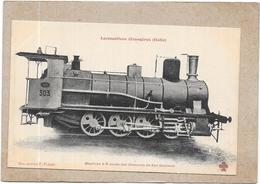 ITALIE - LES LOCOMOTIVES - Locomotive  à 8 Roues Des Chemins De Fer Siciliens   - DELC2 - - Autres