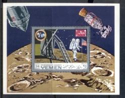Yemen Kingdom 1969 Mi#MS161a Apollo 11 Moon Landing MS CTO - Yemen